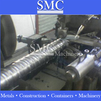 Corrugated Sheet Metal Roofing Roll Forming Machin