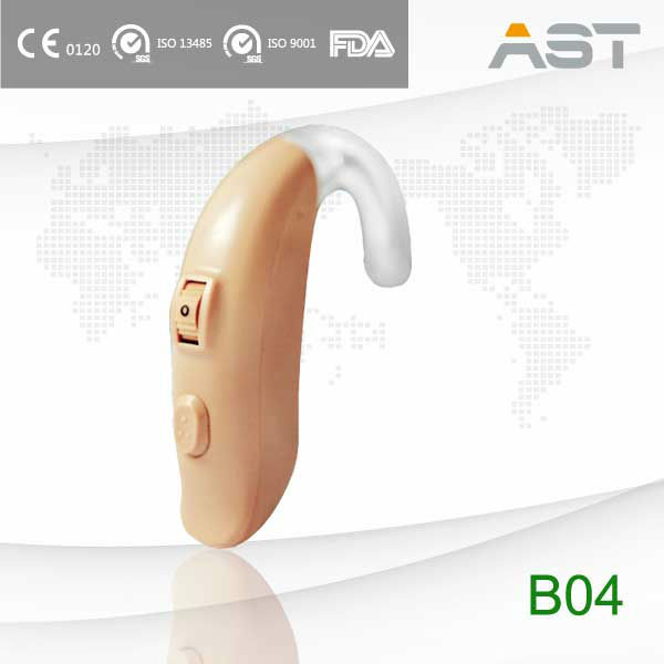 B04 directional mini personal sound amplifier bte hearing aid