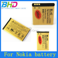 Low Price replacement For Nokia BL-4C Cellular phone batteries