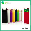 Wholesale silicone card holder adhesive mobile phone case card holder wallet