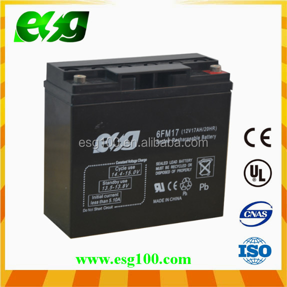 Wholesale deep cycle maintenance free electric bike battery 12v 12ah 6-DZM-12