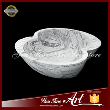Hot Sale Unique Shape Marble Wash Basin