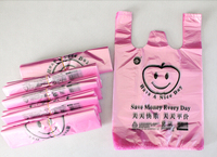 factory direct t-shirt shopping reusable plastic bag