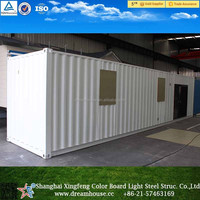 China prefabricated container home/container office/shipping container house