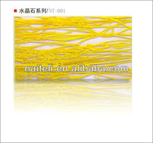 High Gloss Decorative Floral Translucent Acrylic wall Panel