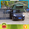New products 2017 innovative product hot sale waterproof canvas car side awning roof top tent