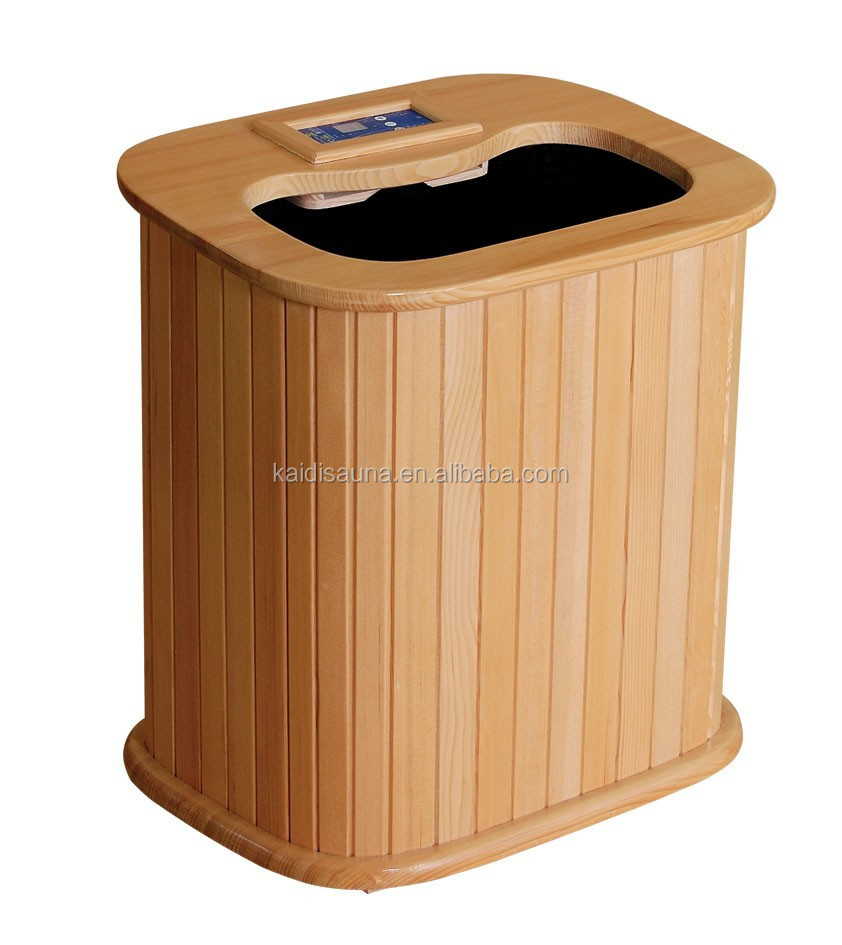 2016 hot sale Korea far infrared sauna wooden foot bath barrel
