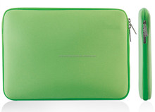 "Green 13"" neoprene Laptop Sleeve,neoprene laptop case/bag/cover for Macbook Pro 13"" /ultrabook"