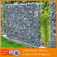 Hot sale in American market gabion fence with ISO factory