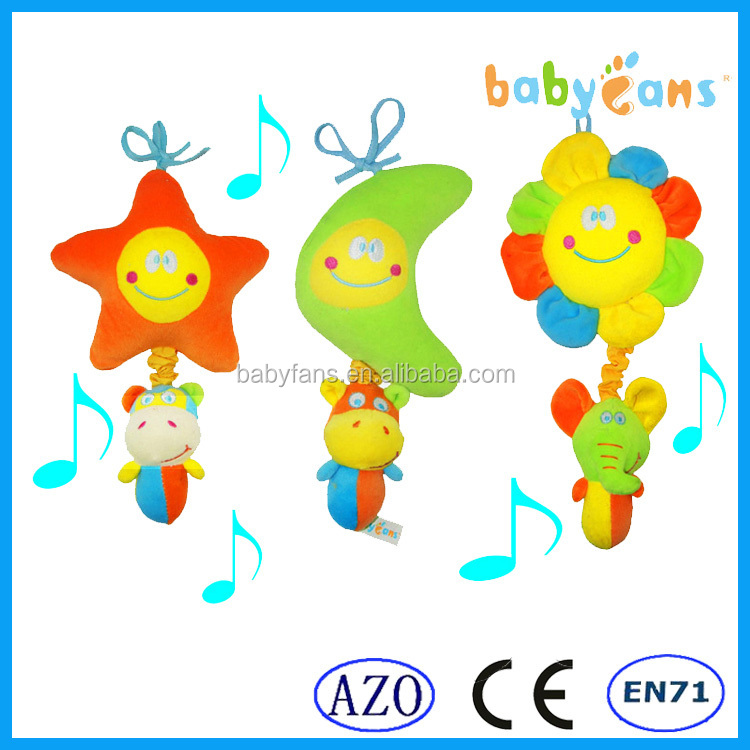 Babyfans new products 2014 baby doll baby musical hanging toys baby products