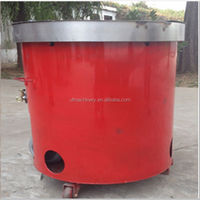 mini type gas peanut roasting machine