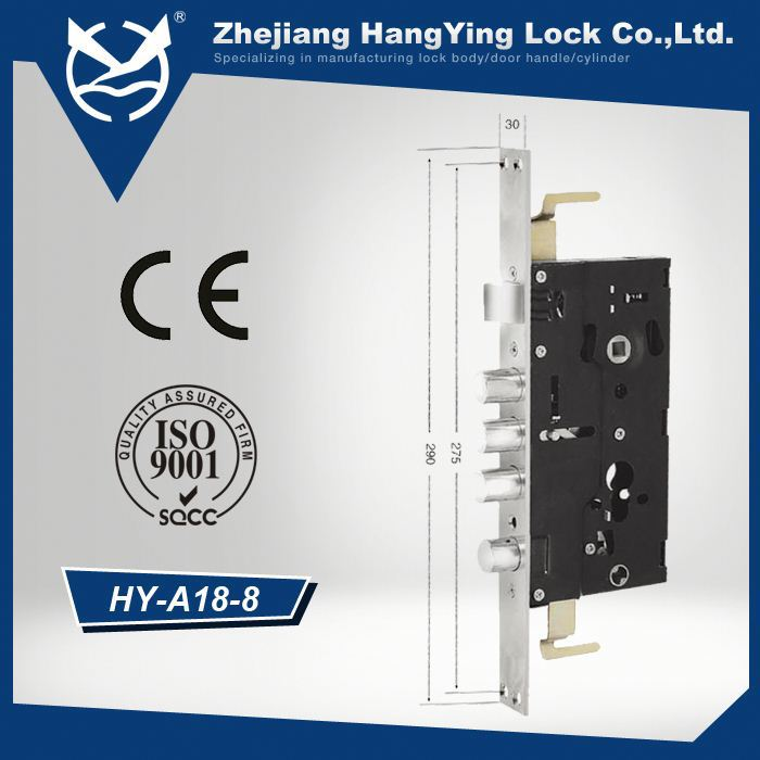 Top Quality Factory Sale! Stainless Steel High Sercurity gift box packing half armoured security gate lock