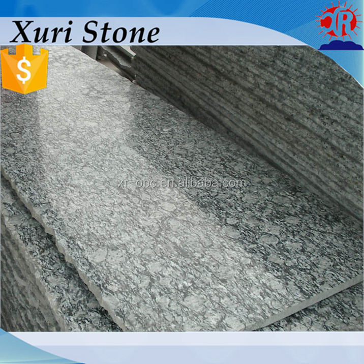 China spray white granite, factory price spray white, wave white granite countertop