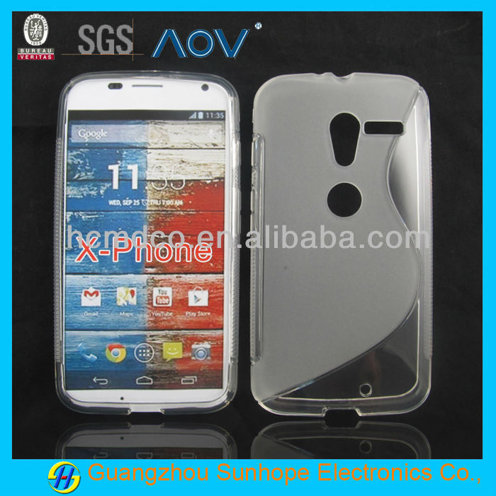tpu s line cheap mobile phone casesfor moto X phone XT1060 XT1058