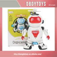 3-CH Electronic plastic dancing robot for wholesale