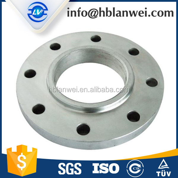 "class 150 flange 1 1/4"" Carbon steel Casting Thread flanges"