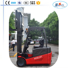 Lowest clearances at high lift heights 1000kg 1500KG 1.5T three wheel electric forklift