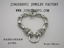 silver bracelet,thai silver bracelet for hip pop singer