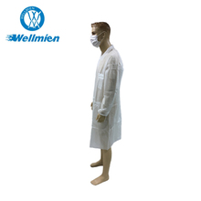 home used non woven white lab coat
