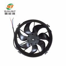 High quality 12 inch ceiling condenser fan motor brushless dc fan for bus