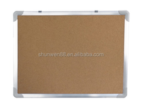 aluminum framed soft corkboard for school and office