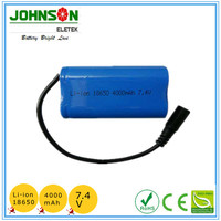 Rechargeable 36V 13Ah Lithium ion 18650 battery pack for electric bicycle 500W