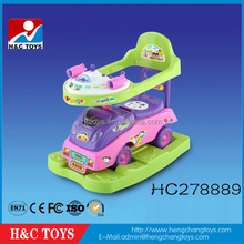 Hot!The most popular cartoon baby car model horse rocking style kids ride on toy car HC278889