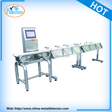 touch screen conveyor weighing detector equipments