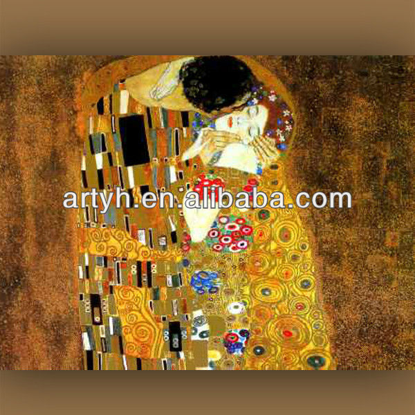 Sexy kiss between man and woman images design painting