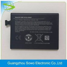 Alibaba hotselling 2420mAh battery BV-5QW For Nokia lumia 930 N930 battery