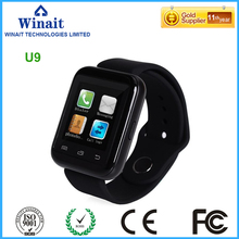 winait u9 smart watch phone with touch display
