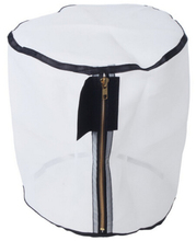Manufacture laundry Hamper with Zipper,folding mesh bag