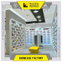 Popular brand sport shoe display stand , for shopping mall furniture