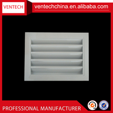 China supplier aluminum weather louver air conditionign linear slot diffuser