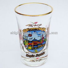 Souvenirs Shot Glass With Gilding