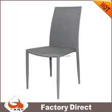 home furniture fabric cheap dining chair stacking chairs made in china
