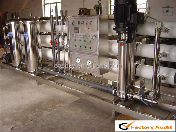 Drinking Water Treatment System Reverse Osmosis Membrane Water Filter Machine RO-15TPH