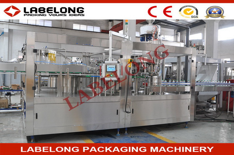 China supplier manufacture best sell carbonated soft drinking canning machine