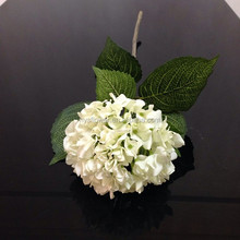 Hot sale real touch large hydrangea flower wedding church decoration