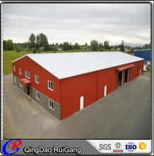 Prefab easy install high quality steel structure workshop design