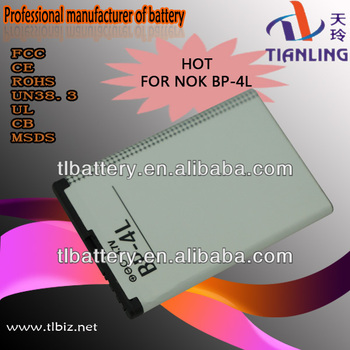 Mobile Phone Battery For Nokia Bl-4l E61