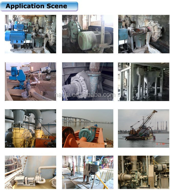 Hot Sales Made in China wear-resistant sand pump  HA(R)