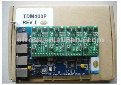 fully compatible with all analog Digium TDM400P FXO/FXS PCI card