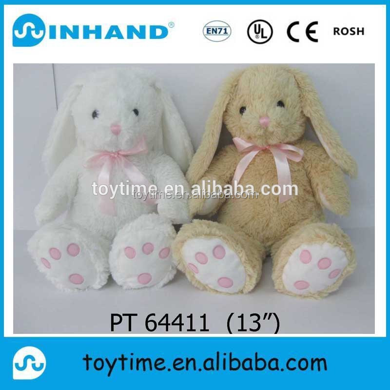 Factory price a pair of cute plush stuffed little rabbit animal