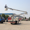2015 New Dongfeng Double Cabin 16m Hydraulic Arm Truck Factory Sale