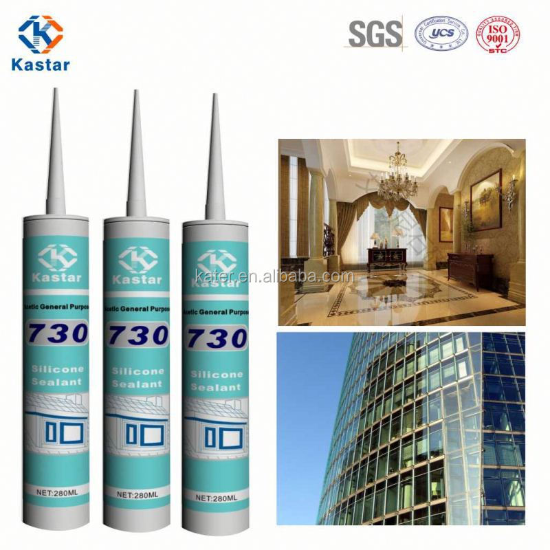 Silicone sealant for concrete joints sealing window frame