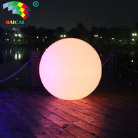 New style Illuminate Solar Floating Light Inflatable waterproof glow swimming pool led ball