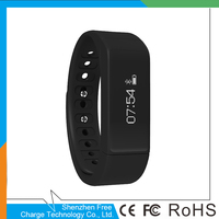 i5 Plus Bluetooth Sports Time display silent vibration alarm Wrist Band Smart Bracelet Watch free samples!! liking fitbit charge