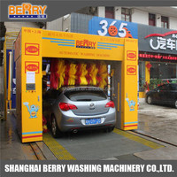 soft brush automatic car wash foam equipment for sale