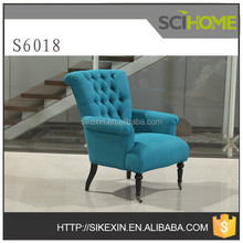 2015 new design Button Tufted Chair, French antique style chair in living room furniture